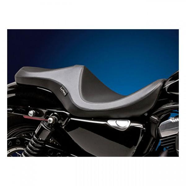 "LEPERA Seat - ""LePera, Villain 2-up seat"" - 04-20 XL (excl. 07-09 XL) with 4.5 gallon fuel tank"