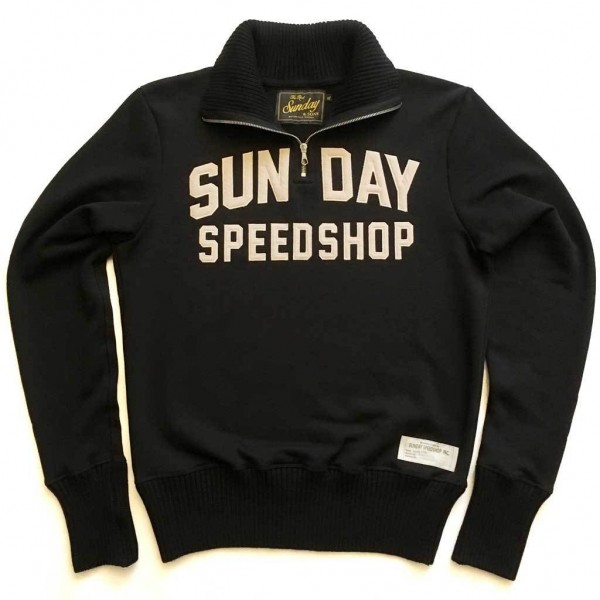 "SUNDAY SPEEDSHOP Sweatshirt - ""Sunday & Sons 1940's Motorcycle"" - schwarz"