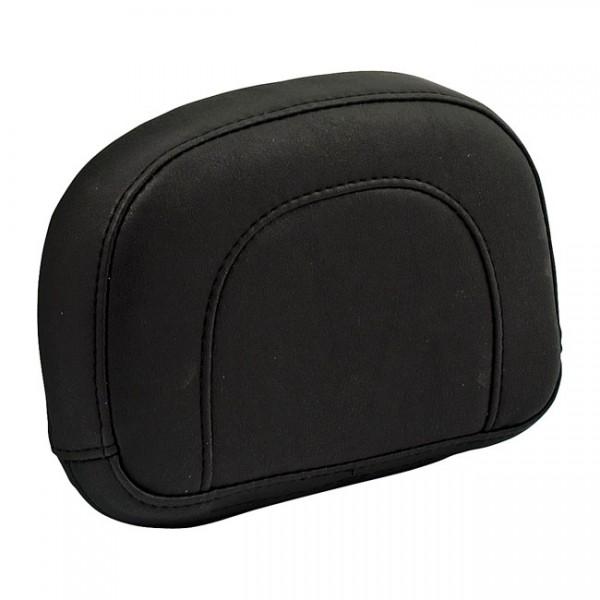 """MUSTANG Sitz - """"Mustang, Mini sissy bar back pad. Black"""" - 97-20 FLHR, FLHT, FLTR; 06-20 FLHX"""