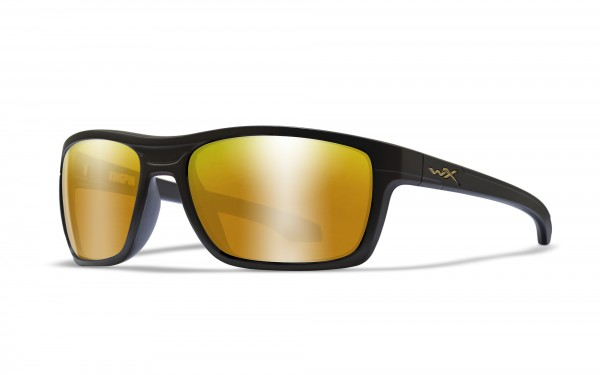 Wiley X Glasses Kingpin Polarised Amber Mirror