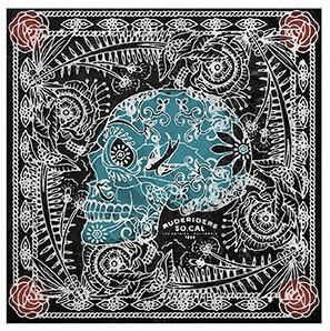"RUDE RIDERS Tuch - ""Lax Skull"" - 140 x 130 cm"