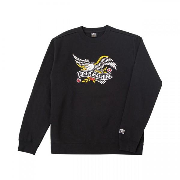 LOSER MACHINE COMPANY Sweatshirt Gateway in schwarz