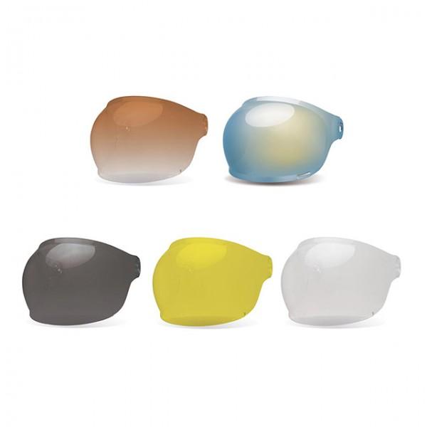 BELL Bullitt visor Bubble with brown tap