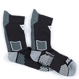 """DAINESE - """"D-Core Mid Sock"""" - black & anthracite"""