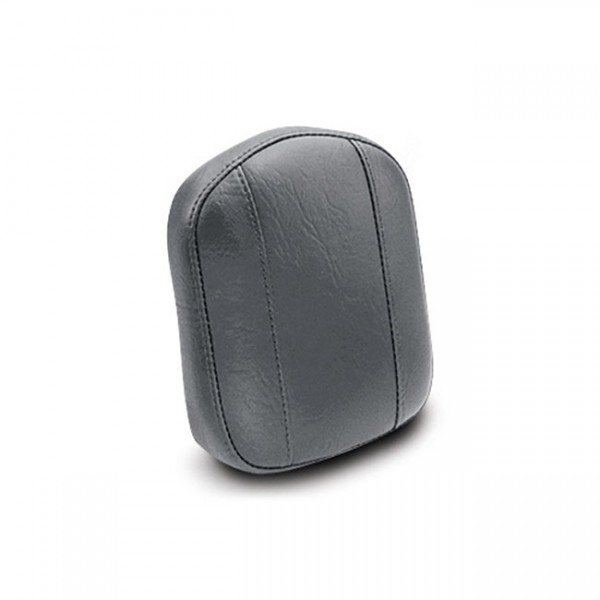 "MUSTANG Sitz - ""Mustang vintage sissy bar pad plain black"" - Honda"
