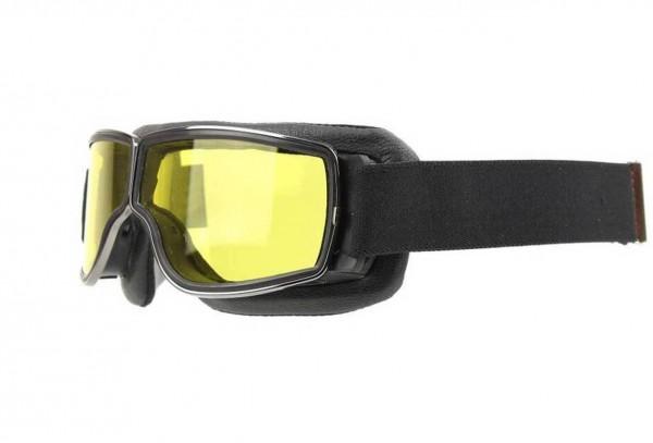 AVIATOR Brille T3 schwarz gunmetal gelb