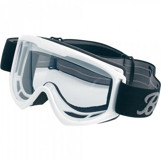 """BILTWELL Cross Brille - """"Moto Goggle White"""""""