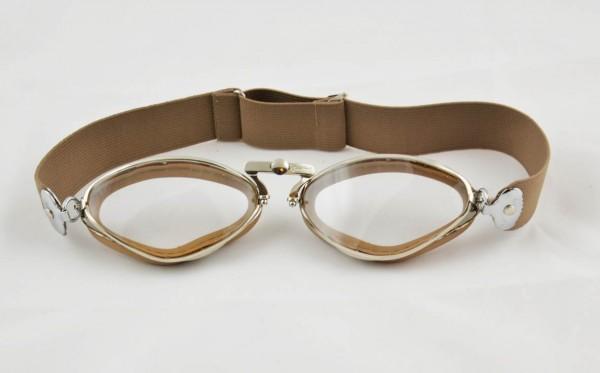 AVIATOR Goggles Mod 4400 beige rubber