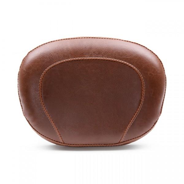 """MUSTANG Seat - """"Mustang, Vintage sissy bar back pad. Brown"""" - 11-13 FXS blackline; 12-17 FLS, FLSS Slim (NU)"""