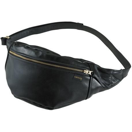"VANSON Waist Bag - ""Fanny Pack Large"" - black"