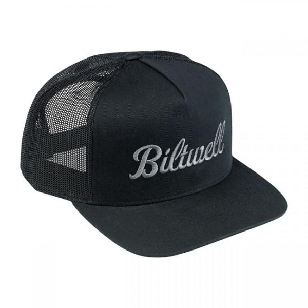 """BILTWELL Hat - """"Script 2 Trucker"""" - black"""