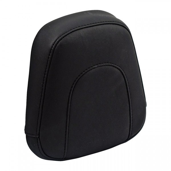 """MUSTANG Seat - """"Mustang, Vintage sissy bar back pad. Black"""" - 06-17 Softail with 200mm tire (NU)"""