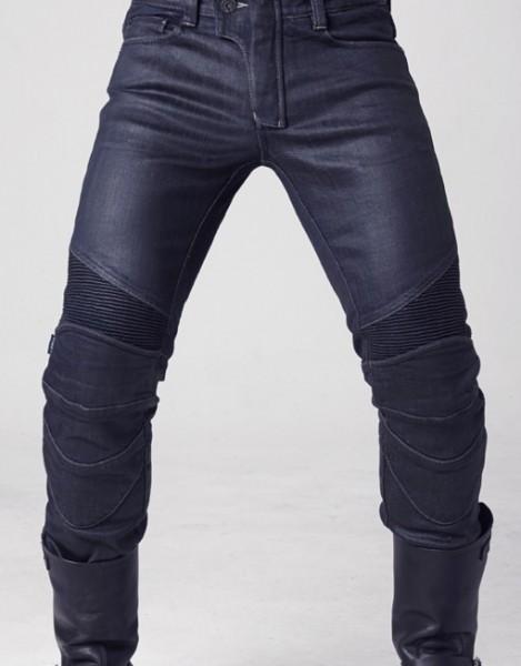 """uglyBROS Jeans - """"Triton"""" - blau beschichtet"""