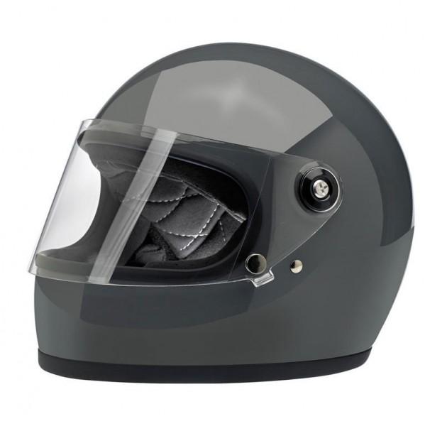 Biltwell Full Face Helmet Gringo S Storm Grey with ECE DOT
