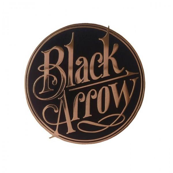 Black Arrow Logo Pin Anstecker