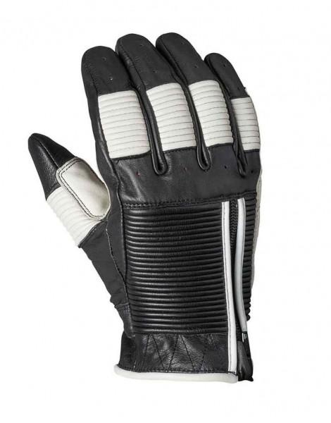 """ROLAND SANDS Handschuhe - """"Bronzo"""" - schwarz & weiß"""