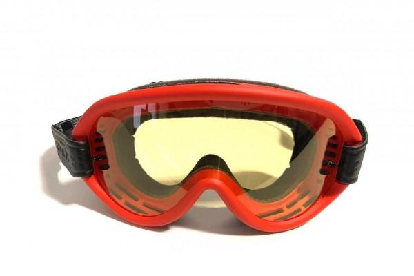 "ETHEN Goggles - ""Scrambler Red"" - light orange tint"