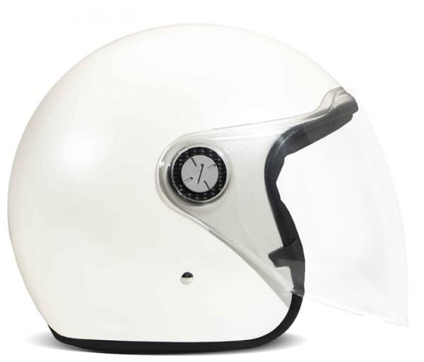 DMD Open Face Helmet P1 White