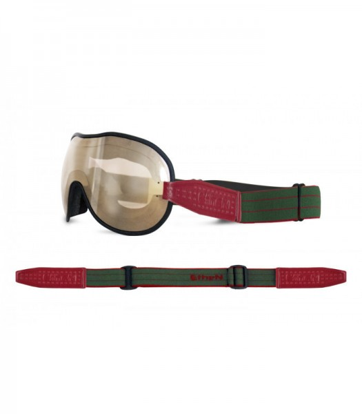 """ETHEN Goggles - """"Cafe Racer CR0104"""" - light brown mirrored"""