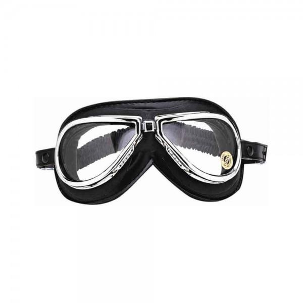 "CLIMAX Goggles - ""500"" - chrome & black"