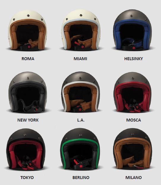 DMD Helm Oro Vintage Jethelm
