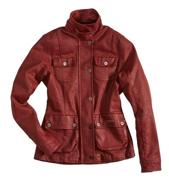 """ROKKER Damenjacke - """"Rokkertech Jacket Lady"""" - rot"""