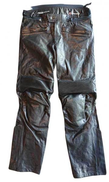"MEINDL Leather Pants - ""Motorcycle Kangaroo"" - black"