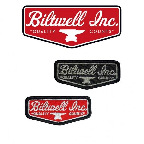 "BILTWELL Patch - ""Shield Patch 3"""""