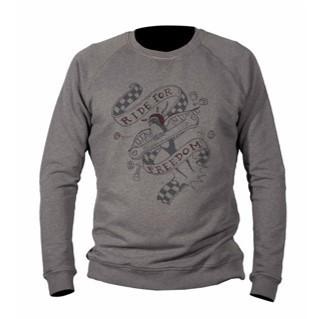 "DMD Sweatshirt - ""Freedom"" - grau"