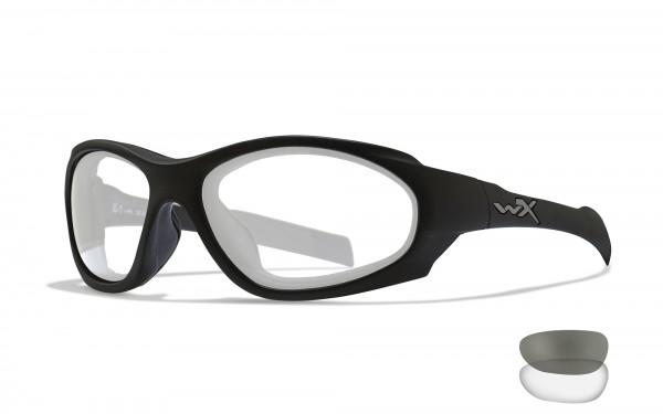 Wiley X Brille XL-1 AD Grau und Transparent