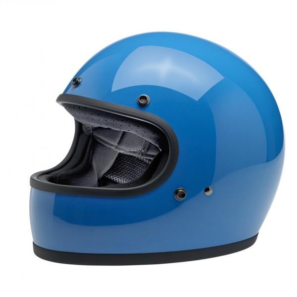 Biltwell Full Face Helmet Gringo ECE DOT Tahoe Blue
