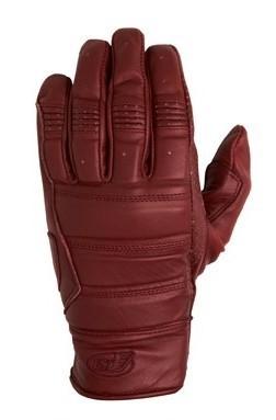 "ROLAND SANDS Handschuhe - ""Ronin"" - ochsenblut-rot"