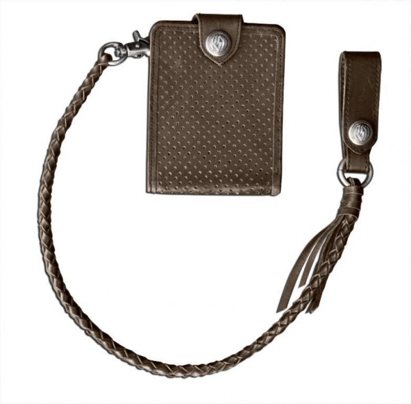 "ROLAND SANDS Wallet - ""Boss Wallet"" - tobacco-brown"