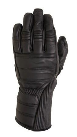 """ROLAND SANDS - """"Judge"""" - black - Motorcycle Gauntlet Gloves"""