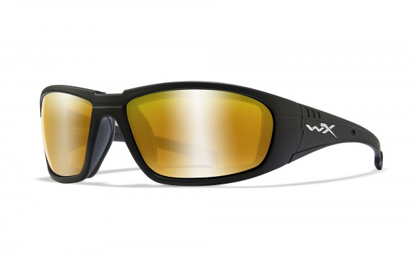 Wiley X Brille Boss Gold Verspiegelt
