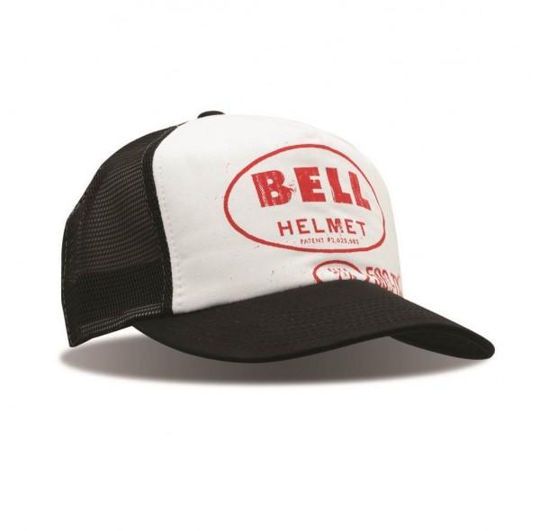 """BELL Hat - """"Orig. Trucker Hat 500-TX"""" - black-white"""