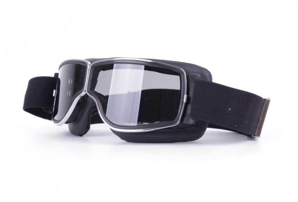 AVIATOR Brille T3 schwarz chrom dunkelgrau