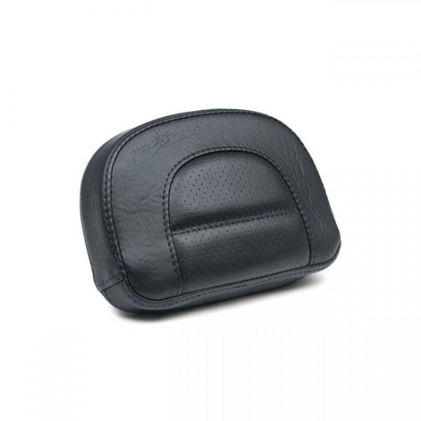 "MUSTANG Sitz - ""Mustang, Vintage sissy bar back pad. Black"" - 18-20 Softail FXBR/S Breakout, FLFB Fa"