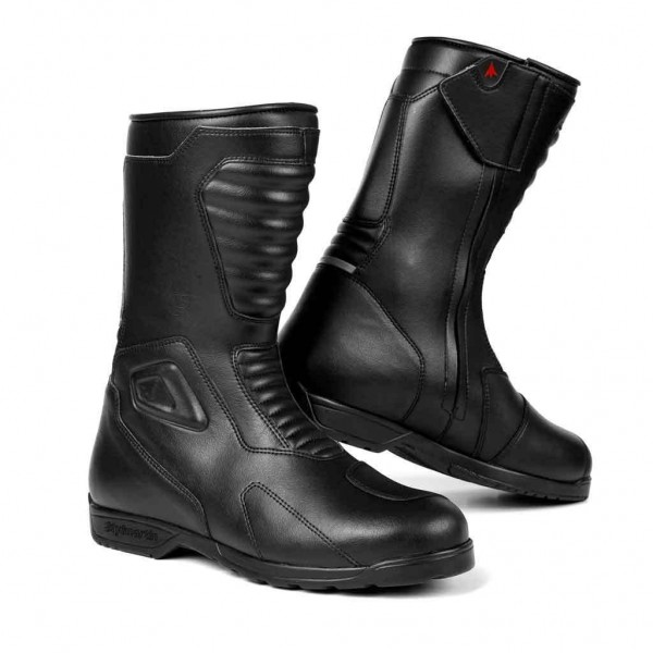 """STYLMARTIN Motorcycle Boots - """"Shiver"""" - waterproof, black"""