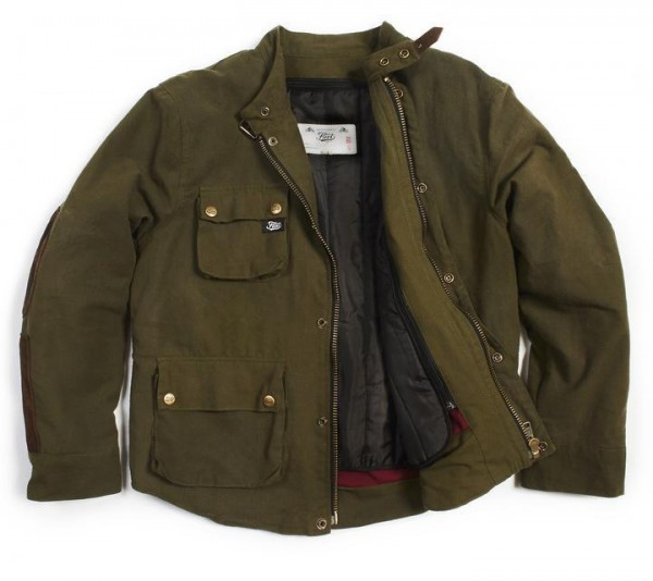 """FUEL Jacket - """"Division"""" - green & brown"""