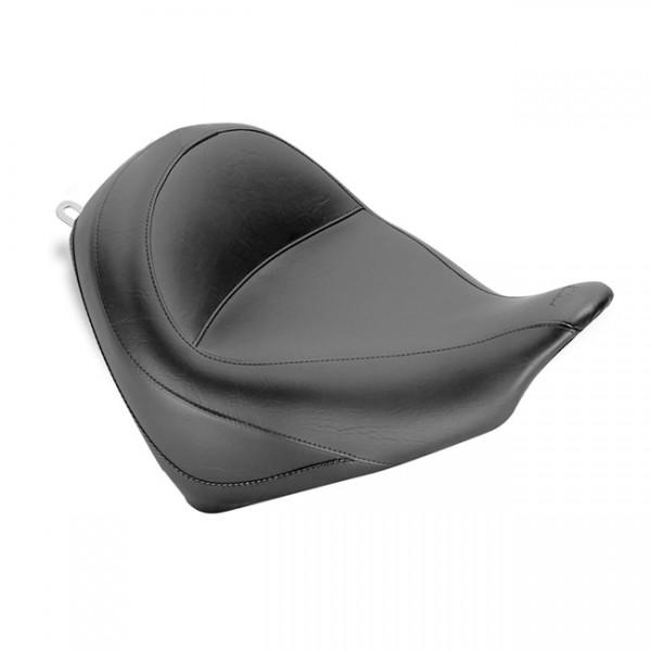 "MUSTANG Seat - ""Mustang vintage wide touring solo seat plain black"" - 10-20 Honda VT1300CX Fury"