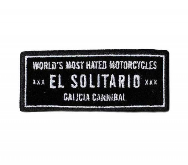 """EL SOLITARIO Aufnäher - """"Most Hated"""""""