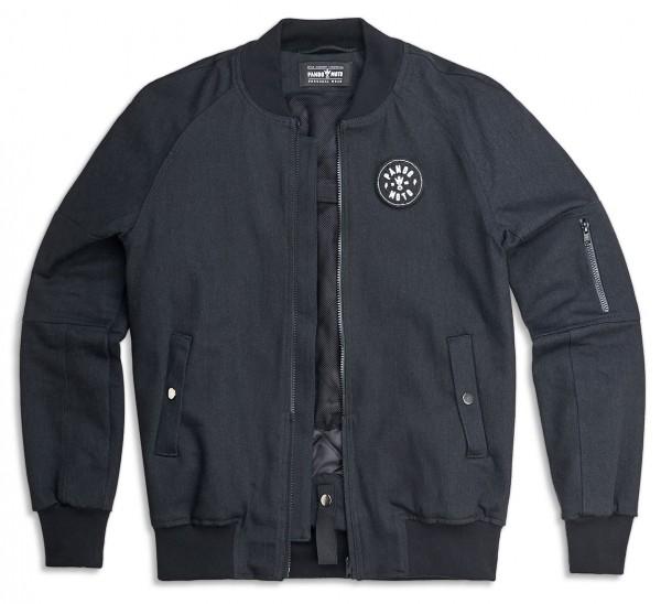 "PANDO MOTO Jacket - ""Bomber"" - Cordura, black"