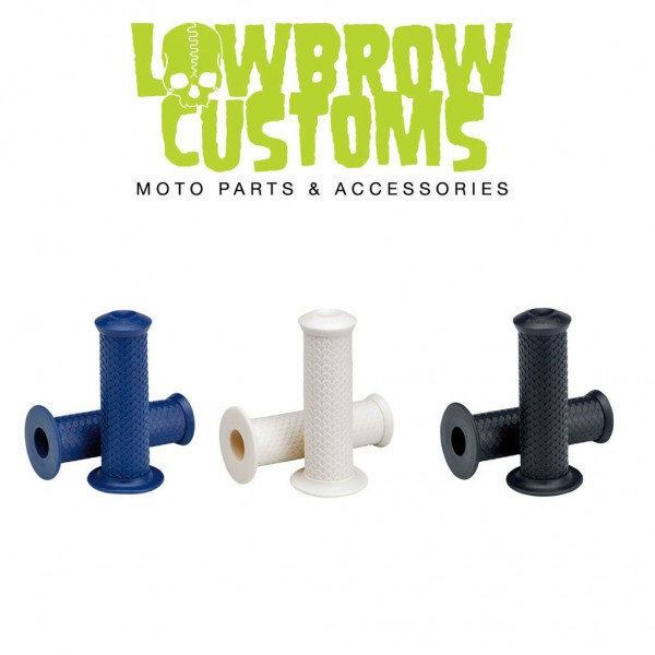 "LOWBROW CUSTOMS Grips - ""Fish Scale"" - 7/8 inch"