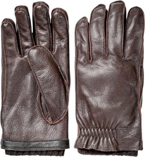 "HESTRA Handschuhe - ""Gagnef"" - dunkelbraun"
