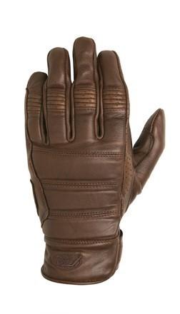 """ROLAND SANDS Gloves - """"Ronin"""" - tobacco"""