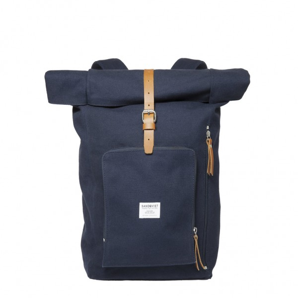 "SANDQVIST Backpack - ""Jerry"" - blue"