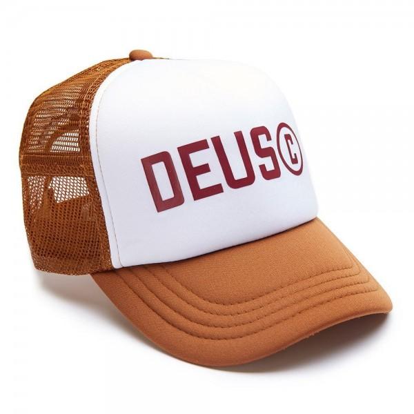 "DEUS EX MACHINA Cap - ""Cooper Trucker"" - braun"
