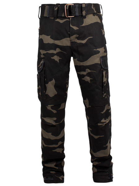 "JOHN DOE Cargo Pants - ""Regular Cargo"" - camouflage"
