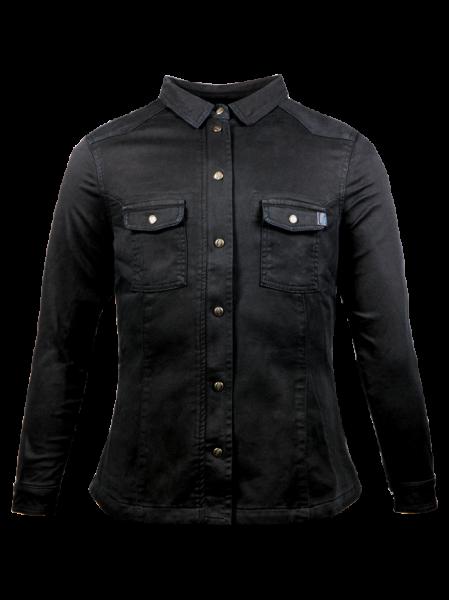 JOHN DOE Women Motoshirt black